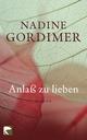 Anlaß zu lieben - Nadine Gordimer