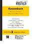 Rhenus Kassenbuch (Querformat)