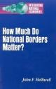 How Much Do National Borders Matter? - John F. Helliwell