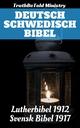 Deutsch Schwedisch Bibel - Kong Gustav V; Joern Andre Halseth; Martin Luther; Truthbetold Ministry