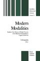 Modern Modalities - Simo Knuuttila