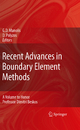 Recent Advances in Boundary Element Methods - George Manolis; Demosthenes Polyzos