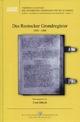 Das Rostocker Grundregister 1550-1600 - Ernst Münch