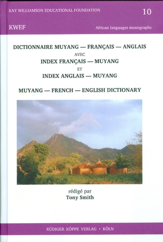 Dictionnaire muyang?français?anglais