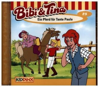 Bibi & Tina - Ein Pferd für Tante Paula, 1 Audio-CD - Ulf Tiehm; Susanna Bonasewicz; Dorette Hugo; E. Meyka