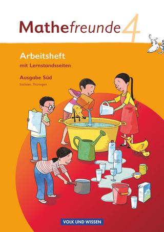 Mathefreunde - Ausgabe Süd 2010 (Sachsen, Thüringen) - 4. Schuljahr - Jana Elsner; Kathrin Fiedler; Ursula Kluge; Birgit Schlabitz; Edmund Wallis; Edmund Wallis