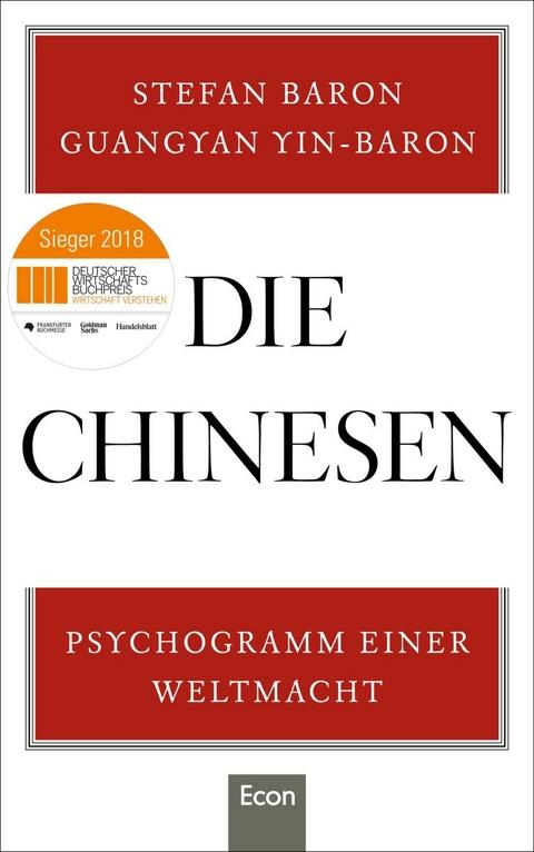 Die Chinesen von Stefan Baron   ISBN 978-3-430-20241-1   Sachbuch ...