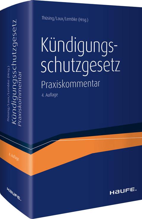 Kündigungsschutzgesetz Von Gregor Thüsing Isbn 978 3 648 11063 8