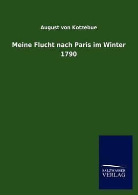 Meine Flucht nach Paris im Winter 1790 - August von Kotzebue