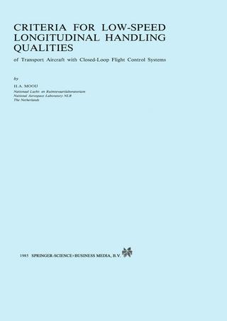 Criteria for Low-Speed Longitudinal Handling Qualities - H.A. Mooij