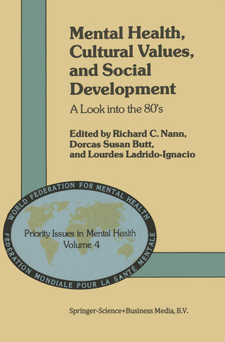 Mental Health, Cultural Values, and Social Development - R.C. Nann; D.S. Butt; L. Ladrido-Ignacio
