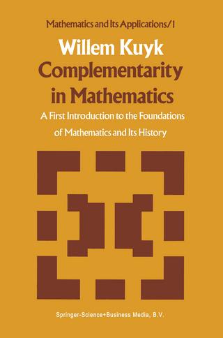 Complementarity in Mathematics - W. Kuyk