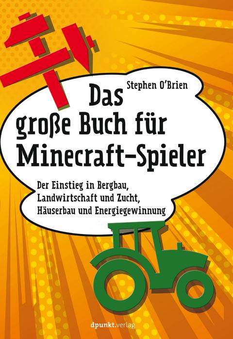 Das Große Buch Für MinecraftSpieler Von Stephen OBrien ISBN - Minecraft spieler online
