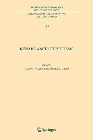 Renaissance Scepticisms - Gianni Paganini; Jose R. M. Neto