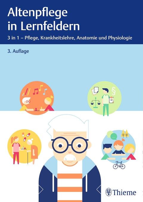 Altenpflege in Lernfeldern   Lehrbuch versandkostenfrei online ...