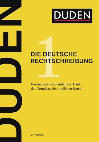Duden Die Deutsche Rechtschreibung 27 Auflage Isbn 978