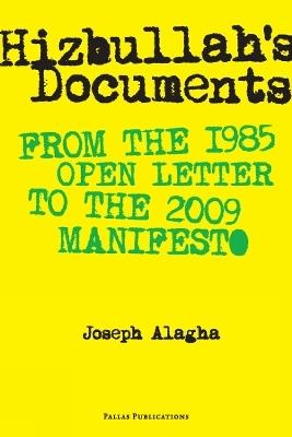 Hizbullah's Documents - Joseph Alagha