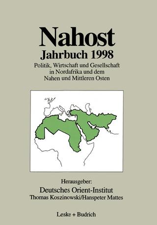 Nahost Jahrbuch 1998 - Deutsches Orient-Institut