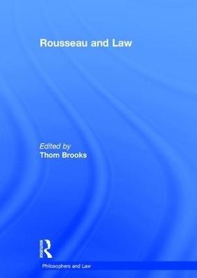 Rousseau and Law - Thom Brooks