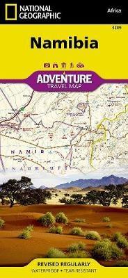 Namibia von National Geographic Maps - Adventure | ISBN 978-1-59775 ...