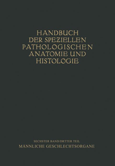 Harnorgane Männliche Geschlechtsorgane von H. Chiari   ISBN 978-3 ...