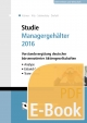 Studie Managergehälter 2016 (E-Book) - Christoph Kuhner;  Jörg-Markus Hitz;  Ralf Sabiwalsky;  Christian Drefahl