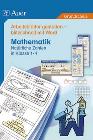 Arbeitsblätter Mit Word Mathematik