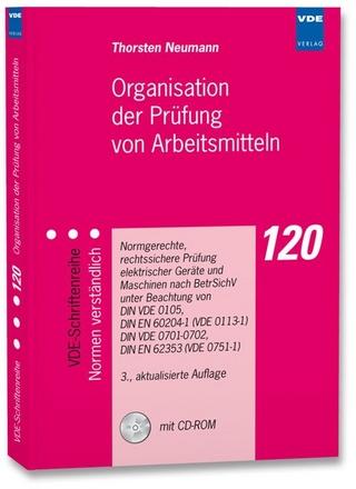 Organisation der Prüfung von Arbeitsmitteln - Thorsten Neumann