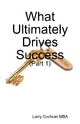 What Ultimately Drives Success - (Part 1) - Mr. Larry Cochran MBA