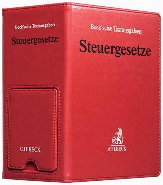 Steuergesetze, m. CD-ROM, Grundwerk mit Fortsetzung