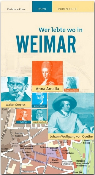 WEIMAR - Wer lebte wo - Christiane Kruse