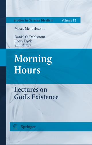 Morning Hours - Moses Mendelssohn; Daniel O. Dahlstrom; Corey Dyck
