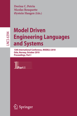 Model Driven Engineering Languages and Systems - Dorina C. Petriu; Nicolas Rouquette; Oystein Haugen