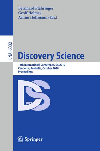 Discovery Science - Bernahrd Pfahringer; Geoff Holmes; Achim Hoffman