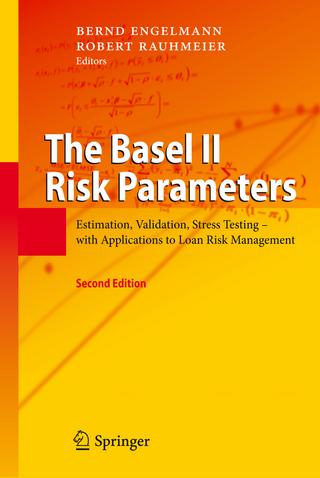 The Basel II Risk Parameters - Bernd Engelmann; Robert Rauhmeier