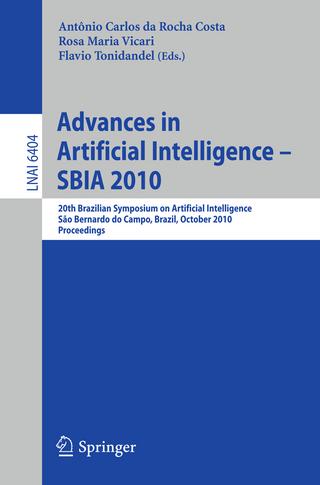 Advances in Artificial Intelligence -- SBIA 2010 - Antonio Carlos da Rocha Costa; Rosa Maria Vicari; Flavio Tonidandel