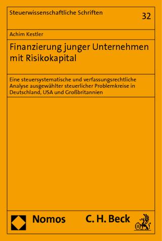 Finanzierung junger Unternehmen mit Risikokapital - Achim Kestler