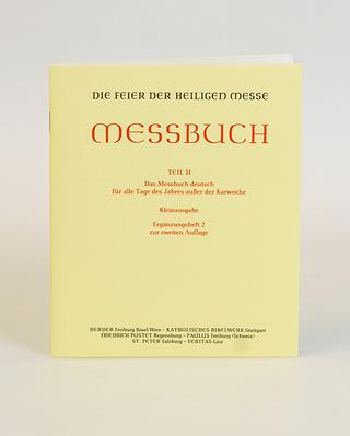 Die Feier der Heiligen Messe. Messbuch