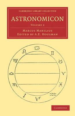 Astronomicon - Marcus Manilius; A. E. Housman