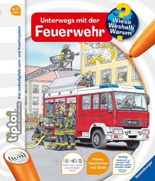 tiptoi® Unterwegs mit der Feuerwehr - Daniela Flucht
