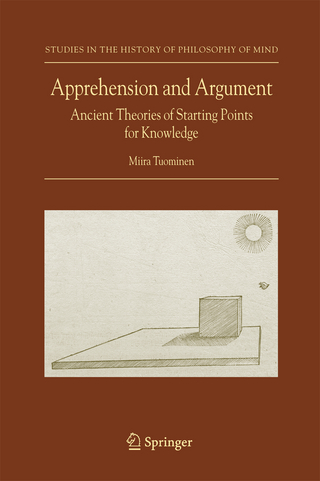 Apprehension and Argument - Miira Tuominen