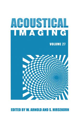 Acoustical Imaging - Walter Arnold; Sigrun Hirsekorn