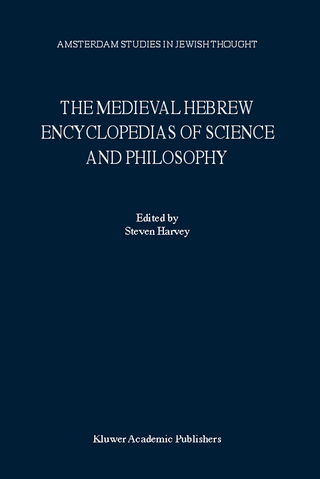 The Medieval Hebrew Encyclopedias of Science and Philosophy - S. Harvey