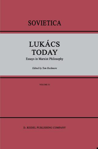 Lukacs Today - I Rockmore