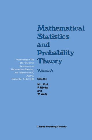 Mathematical Statistics and Probability Theory - Madan L. Puri; P. Revesz; Wolfgang Wertz; P. Bauer; F. Konecny
