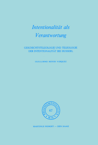 Intentionalitat als Verantwortung - Hoyos G. Vasquez