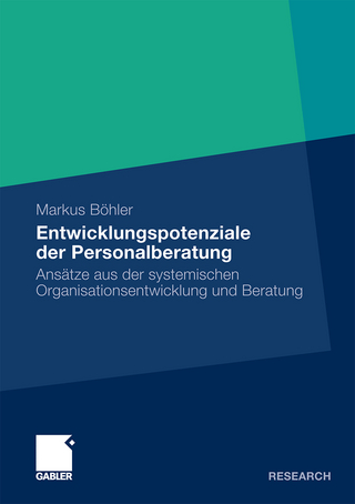 Entwicklungspotenziale der Personalberatung - Markus Böhler