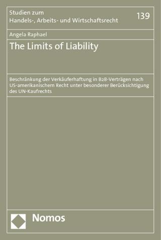 The Limits of Liability - Angela Raphael