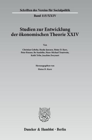 Wechselseitige Einflüsse zwischen dem deutschen wirtschaftswissenschaftlichen Denken und dem anderer europäischer Sprachräume. - Heinz D. Kurz