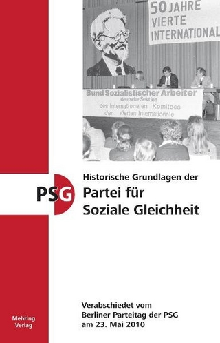 Historische Grundlagen der Partei für Soziale Gleichheit